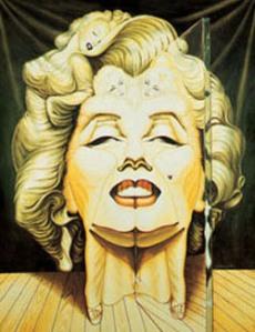 ilusiones opticas Marilyninthemirror